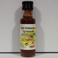 Chilisoße Hot Habanero | 100 ml